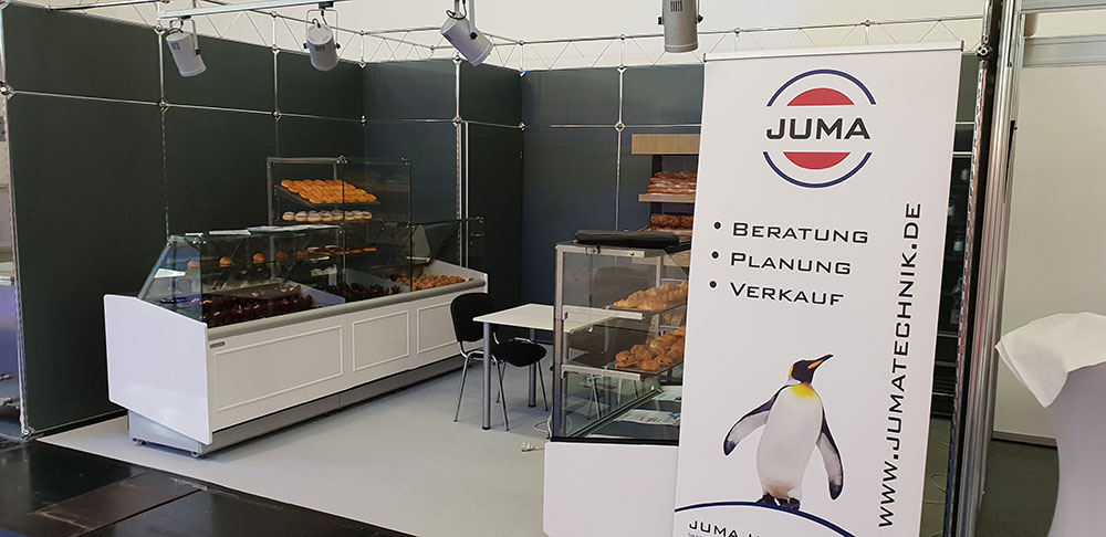 JUMA Messestand iba München 2018
