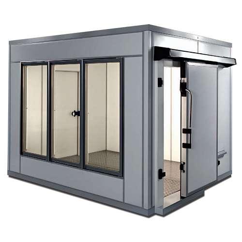 JUMA Kühlzelle - Schiebetür, Glaswände