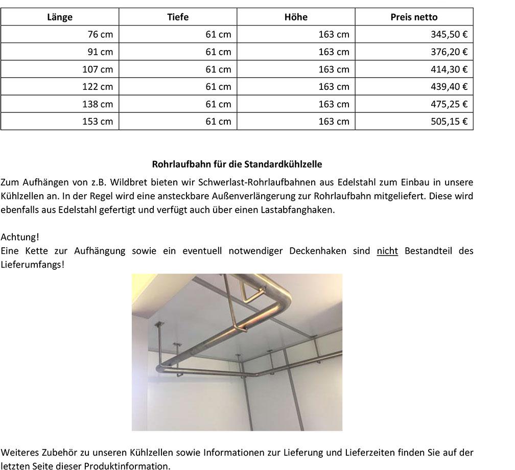 JUMA-Kühltechnik-Produktinformation